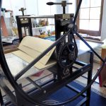 atelier gravure presse taille douce